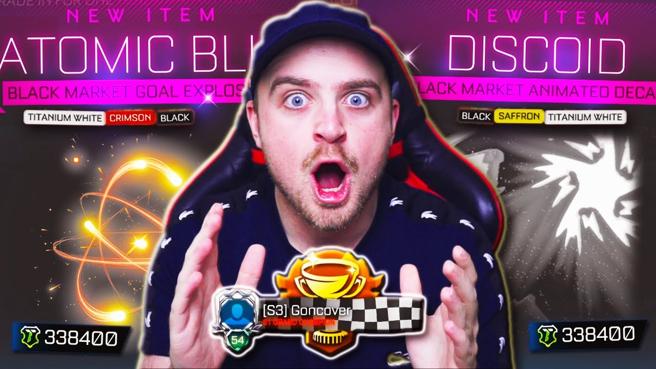 A Fan DARED Me to Open CHALLENGER CUPS ONLY in Rocket League & I got EVERY BLACK MARKET!