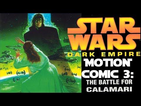 "Star Wars. Dark Empire. Motion Comic Part 3 ""The battle for Calamari"