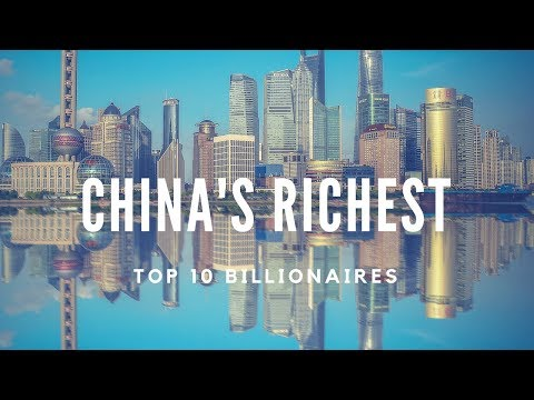 10 Richest people in China || Top Billionaires || January 20