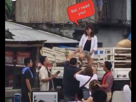 Kathniel sweetness spotted: Kathryn ayaw magpabuhat sa iba, maliban kay Daniel Padilla