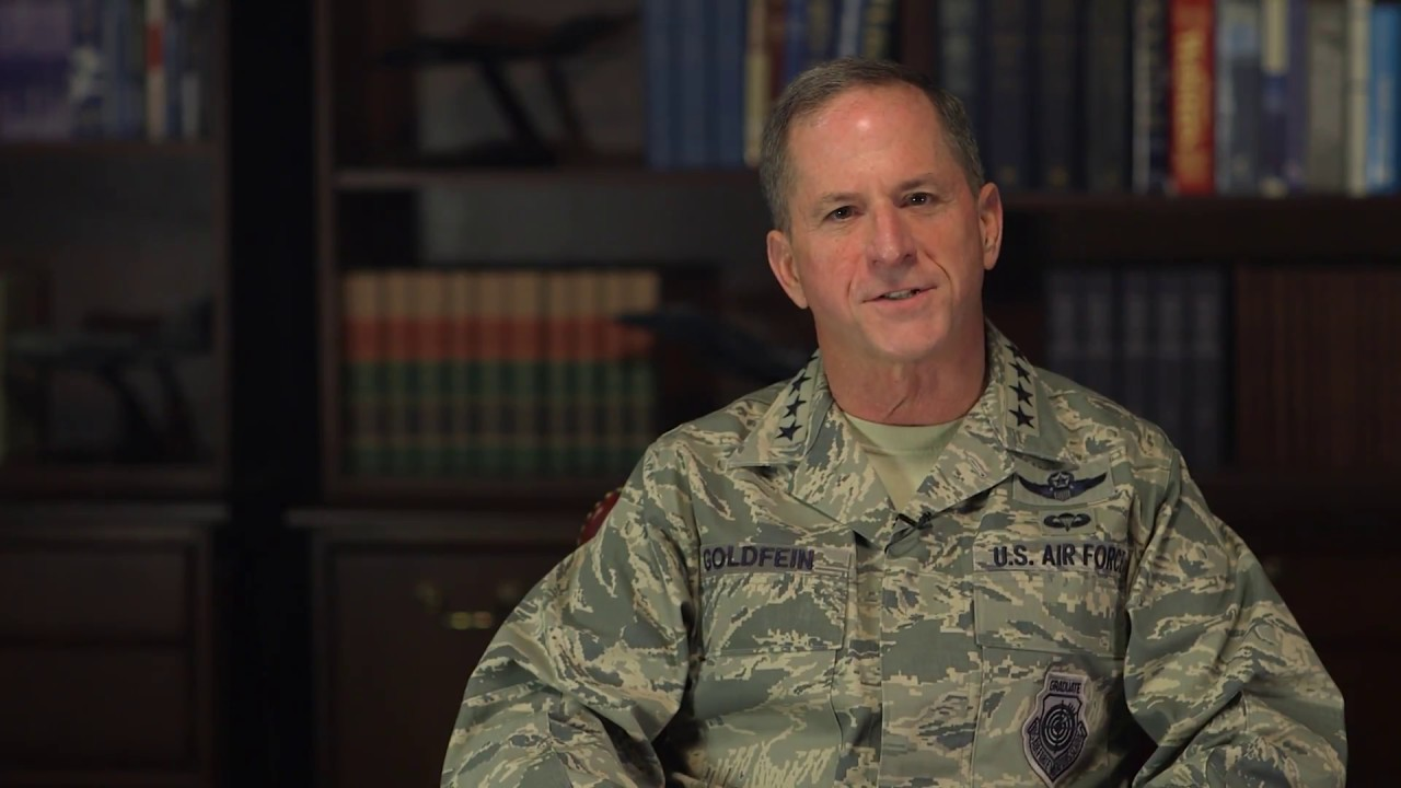 Greeting from Air Force Chief of Staff Gen David Goldfein '83 Founders Day 2017