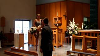 Mr. Becker forgets to kiss bride at the alter