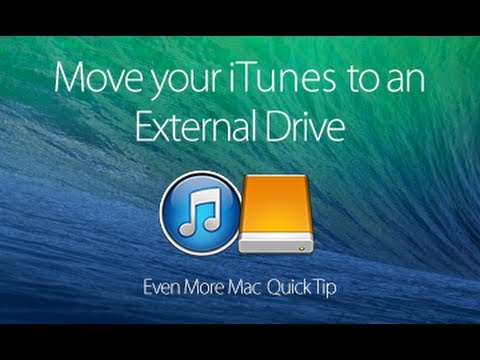 Speed up your Mac by moving your iTunes Music Library to an External Hard Drive