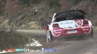Citroën Racing - Kris Meeke - 2016 WRC Rallye Monte-Carlo testing - Best-of-RallyLive.com
