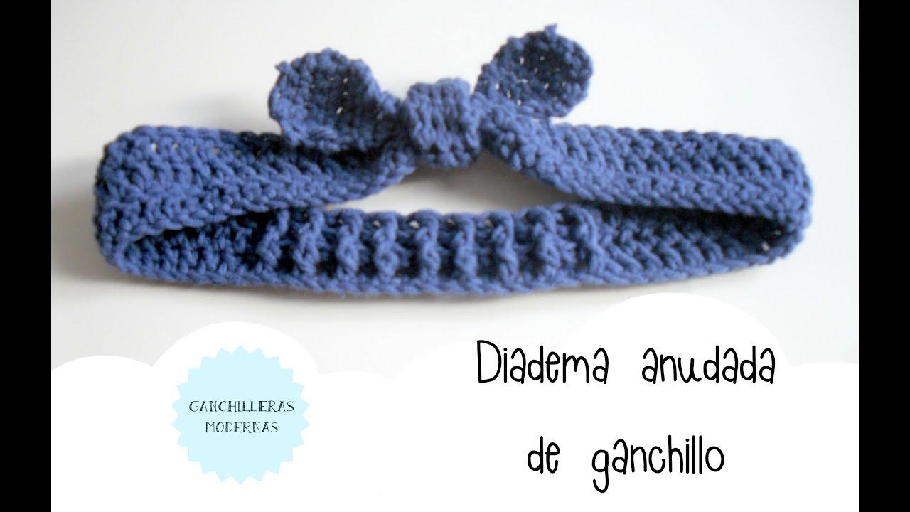 Increíble Diadema Con Patrón Doble Crochet Galería - Manta de Tejer ...
