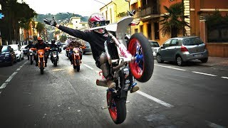 KILLING THE STREETS - The Dream whispers |Supermoto City Ride|