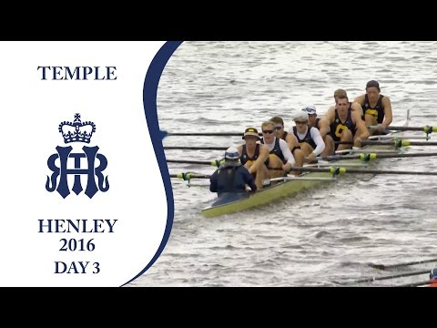 California Berkeley v Imperial 'A' | Day 3 Henley 2016 | Temple