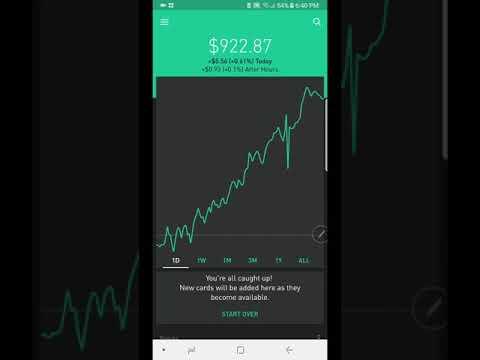 Robinhood App- Creating Wealth