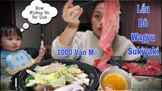 🇯🇵Lẩu Bò Wagyu Nhúng Trứng Sống Chan Húp Xì Xụp Phê Quá Phê - Sukiyaki homemade#159