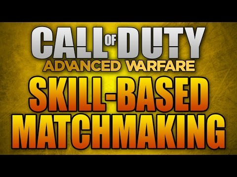 Skill Based Matchmaking In Advanced Warfare (and Bad Connections)