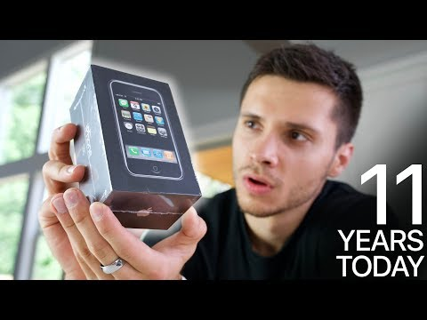 Original IPhone Unboxing! 11 Years Old Today