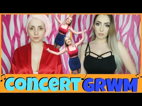 Get Ready With Me For A CONCERT!!!