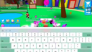 MY ENTIRE INV GIVEAWAY:Roblox bubble gum simulator