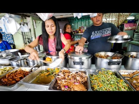 Philippines Street Food - AMAZING Filipino Food at Aling Sos