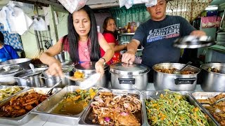 Philippines Street Food - AMAZING Filipino Food at Aling Sosing