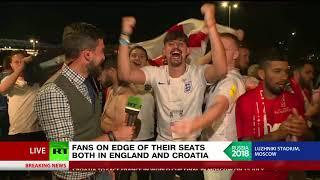 F-bomb & middle fingers: England fans crash RT broadcast