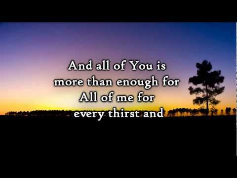 Chris Tomlin - Enough (Lyrics)