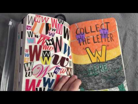 WRECK THIS JOURNAL (IN)COMPLETE FLIP-THROUGH | Amy Elizabeth