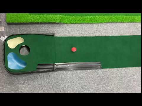 Deluxe Golf Putting Mat