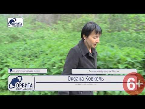 Специальный репортаж: Можайск, Можайский район, деревня Большое Тёсово,  Мостик (05.06.2018)