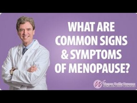 What Are Common Signs And Symptoms Of Menopause
