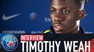 INTERVIEW TIMOTHY WEAH (FR🇫🇷)
