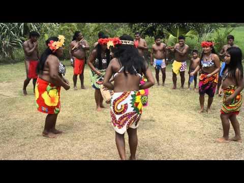 Embera Tribe dances