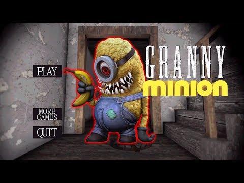 ЧТО ЕСЛИ БАБКА ГРЕННИ СТАНЕТ МИНЬОНОМ Granny Minion Mod