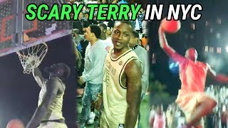 Terry Rozier Goes SCARY TERRY At Dyckman!!! Lance Stephenson Pops Out In EPIC Streetball Game 🔥