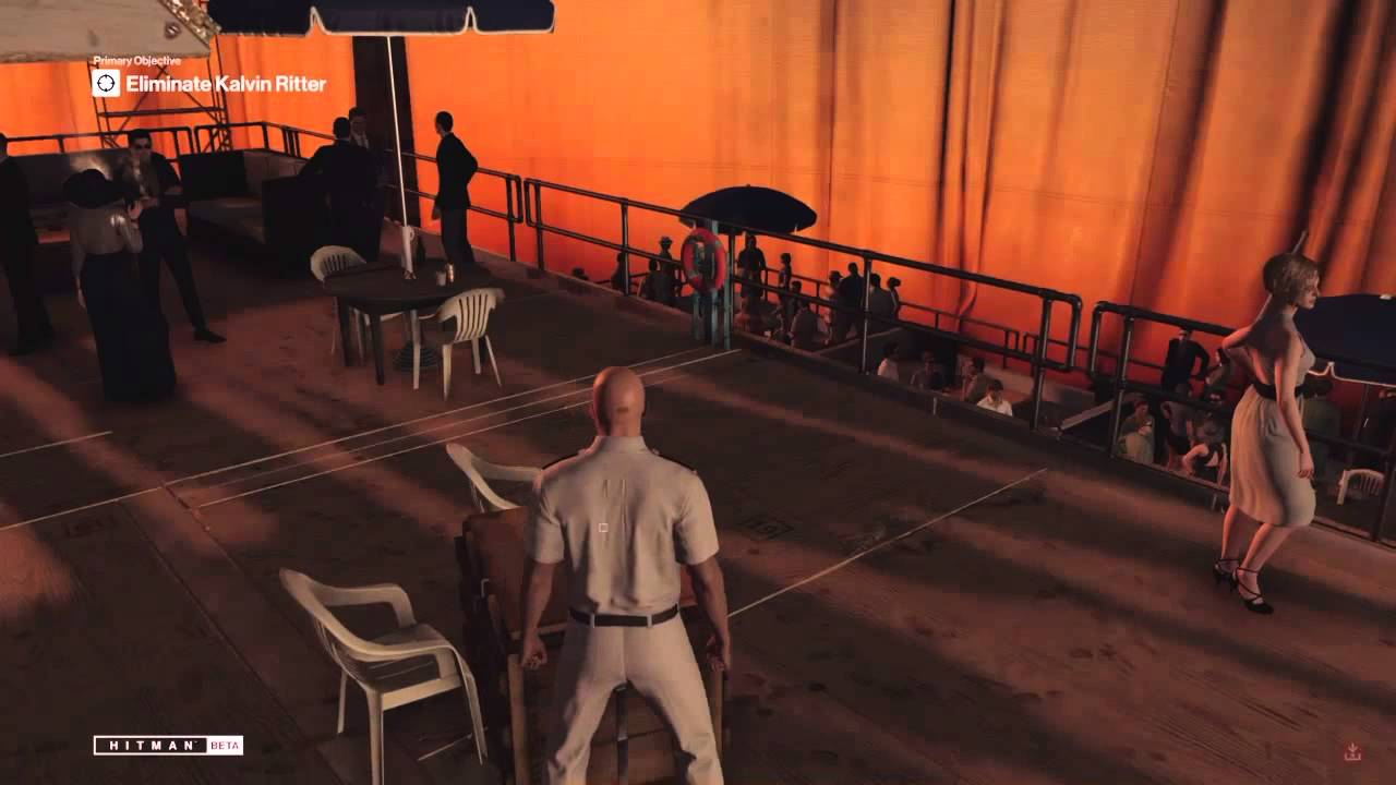Hitman 6 Prologue Yacht Gameplay Rat Poison Is The Lesser Evil Explosion In The Toilet Youtube