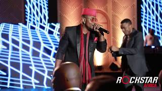 OMMY DIMPOZ introduces Yanje in Nairobi at Safaricom Awards Event