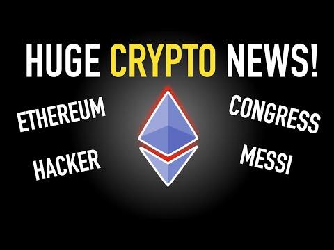 Huge Crypto News! – Ethereum, Biggest Hack, Senate…and more!
