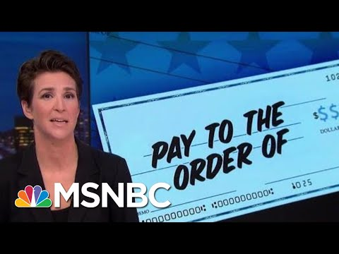 Congressional Hearing Will Take Another Look At 'Individual 1' | Rachel Maddow | MSNBC