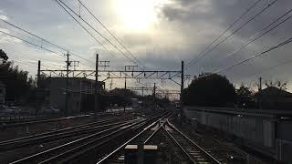 名鉄1800系+1200系快速特急 国府通過
