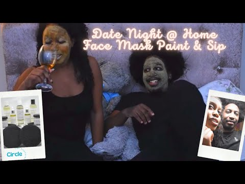 Date Night @ Home | Couples Skin Care & Drinking Game | The Shopping Circle UK Black Owned Busin