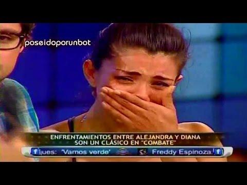 COMBATE: Diana LLORA por perder la amistad de Alejandra Baigorria. Diana LLORA 30/01/13
