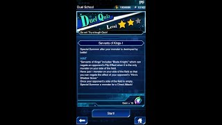 Yugioh Duel Links - Duel Quiz Level 2 : Servant of The Kings 1