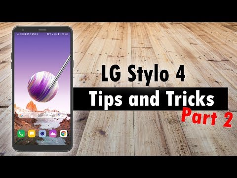 LG Stylo 4 Tips and Tricks Part 2