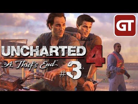 Uncharted 4 Let's Play #3 - Deutsch / German Gameplay