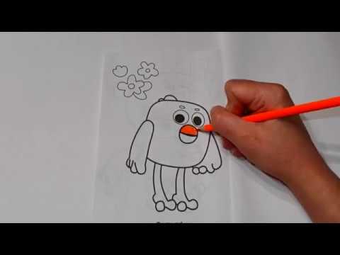 Раскраски: Цыпа - Мимимишки #8 - YouTube