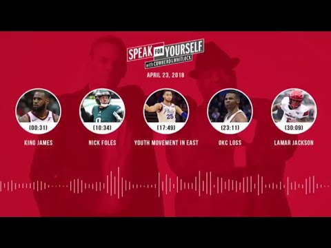 SPEAK FOR YOURSELF Audio Podcast (4.23.18) with Colin Cowherd, Jason Whitlock | SPEAK FOR YOURSELF