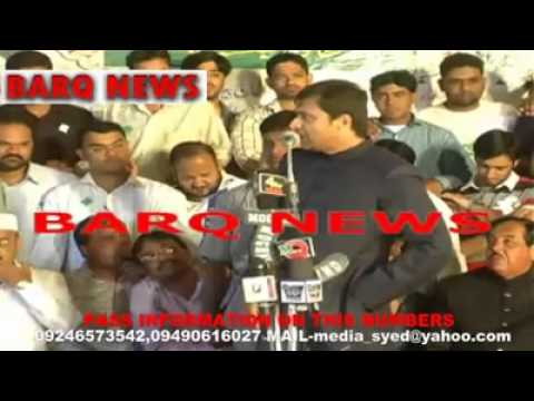 Akbaruddin Owaisi Again Open Challenge to Narendra Modi and Hyderabad Police on 20th APRIL 2014