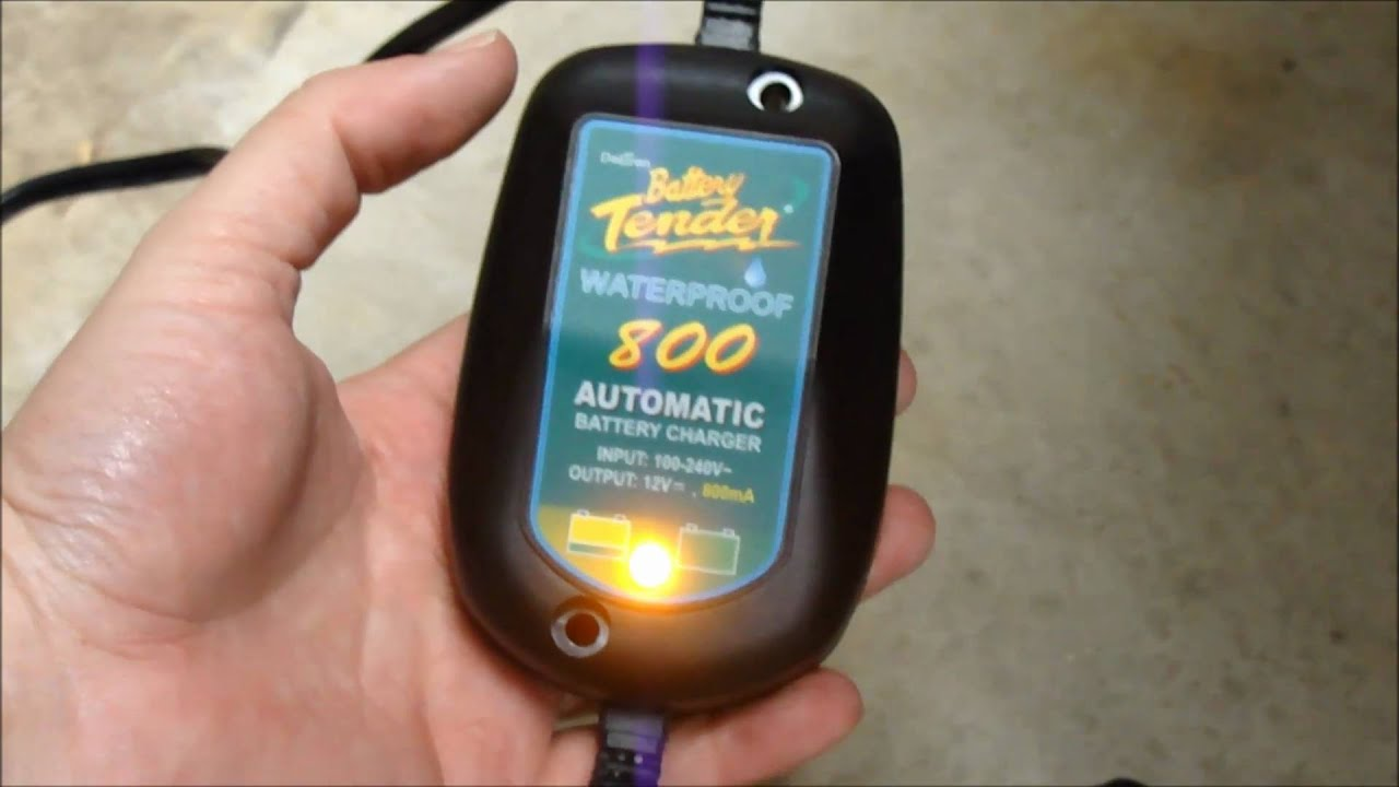Battery Tender 800 Waterproof Product Review And How To