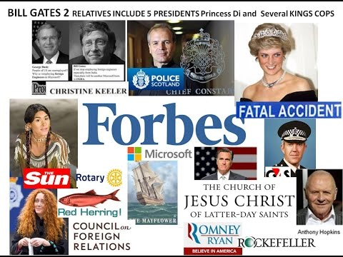 Bill Gates 2, Henry Percy, Pocohontas, Hopkins Mayflower, Lady DI, Buffet, Latter Day St Romney CFR