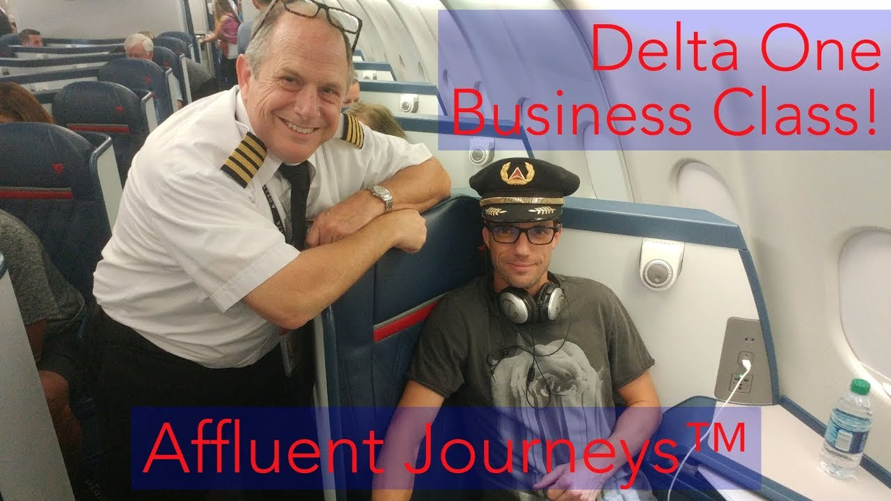 Download Delta One Business Class, Baby!  ATL- FCO A330