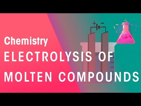 Electrolysis Of Molten Compounds | Ractions | Chemistry | FuseSchool