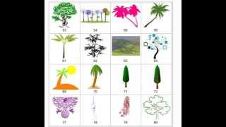 Clipart - Trees