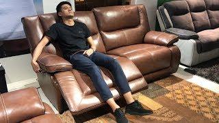 Диван и кресло Прецо с реклайнерами в видео обзоре от Бенцони