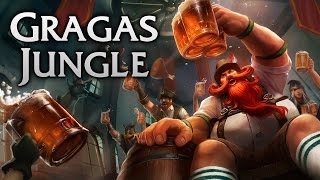 Oktoberfest Gragas Jungle - Full Game Commentary
