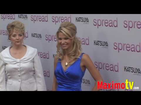 SONIA ROCKWELL at SPREAD Premiere Arrivals